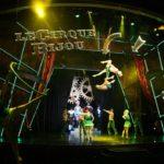 scenic art for le cirque bijou on norwegian cruise lines