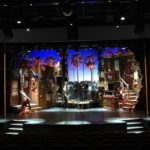 scenic solutions set build for rock of ages on norwegian cruise lines